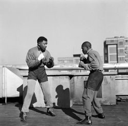 Mandela Boxing in 1957