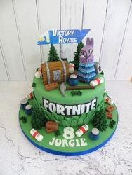 Jorgie's 8th Birthday Cake
