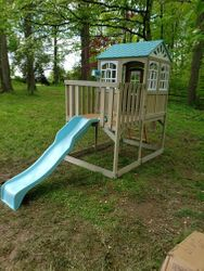 KidKraft Highline Retreat Playhouse installation in Maryland