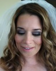 Bridal smokey eye