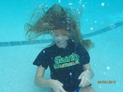 In a pool on Spring Break.
