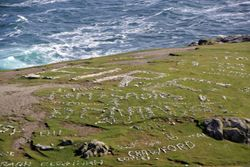 Messages at Malin Head on Inisowen Peninsula