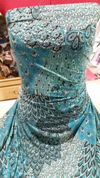 654#Turquoise Sparkle