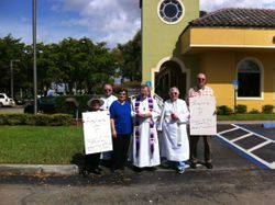 Epiphany Miami Lakes Ashes to go 2014