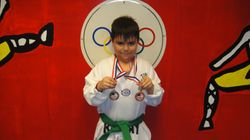 Marcos Acosta 2nd in fighting 3rd in forms
