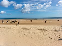 Normandy Beach today
