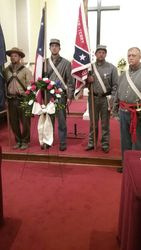 Wythe Grey chapter, UDC Memorial Day Service