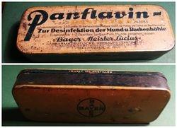 Antikvarine Bayer vaistu dezute. Kaina 6