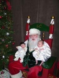 Santa With babies
