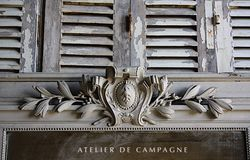 #29/053 FRENCH MIRROR MAROILLES DETAIL