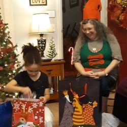 Makena & The Crazy Elf!