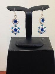 Blue Date Night Earrings (Item #3275) $20.00