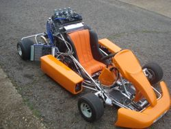 1000CC gsxr kart using expert ,msx and paddles