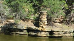 Upper Dells boat tour