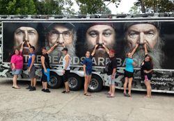 Youth in Monroe Louisiana at Duck Commander