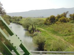 Part of the Jordan River