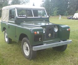 1960s Series 2 Landrover