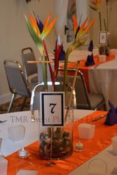 Center Piece and number