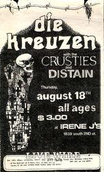 1983-08-18 Irene J's, Milwaukee, WI