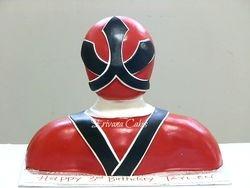 Samurai rangers cake 1