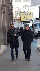 Me and Tony. Rome. Italy, 2020
