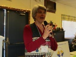 Cheryl introducing  Moultonborough academy students