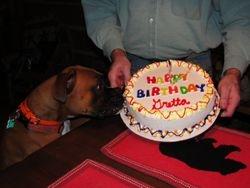 Our Gretta's 2nd Birthday :-)