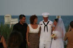 After the Beach Wedding