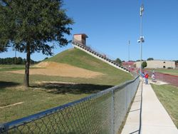 Beebe Stadium from Band Bleachers