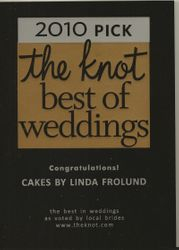 Award won from    www.theknot.com