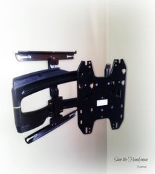 Chief T525TU TV mounting bracket installation