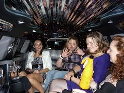 Girls Night out in the Limo
