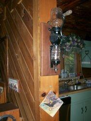 antique coffee grinder, arcade manufacturer