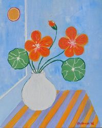 """ The Moon and the Nasturtium ""  2006"
