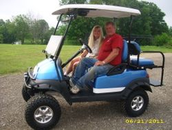2010 Club Car Precedent Customized