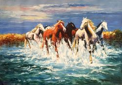 Horses On The River, 2015