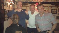 Clive Myers, Sid Cooper, Frank Rimer & Steve Grey