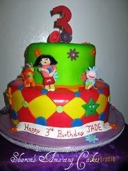 CAKE 25A2- Dora Cake