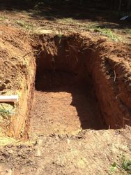 Septic Tank Hole Excavation