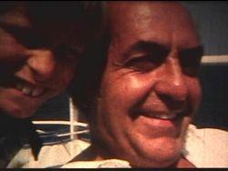 Hubert Lemire et son fils, Léo