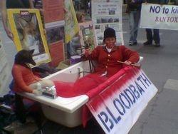 BLOODBATH in O CONNELL STREET Dublin.