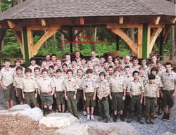 Troop 88 at  Camp Sequassen