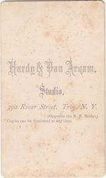 Hardy & Van Arnam of Troy, NY - back