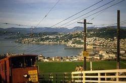 Kelburn Cable car Wellington 1955