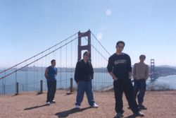 Golden Gate Bridge at the background