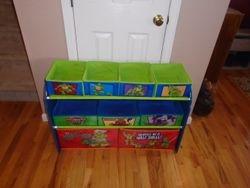 Delta Ninja Turtles Deluxe 9-Bin Toy Storage Organizer - $40