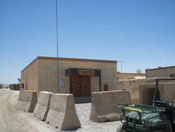 the chapel in afghanistan