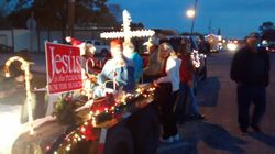Christmas parade float 6