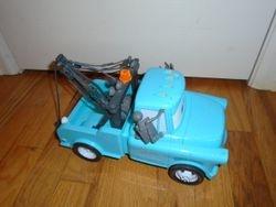 """Disney Pixar Cars 14"""" Mater with Lights & Sounds - $20"""