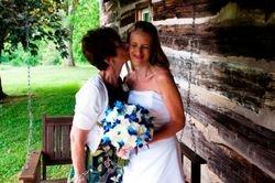 Lisa Phillips before the wedding